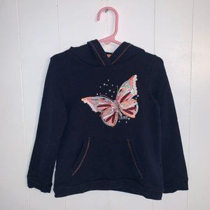 S.Oliver sequin butterfly hoodie